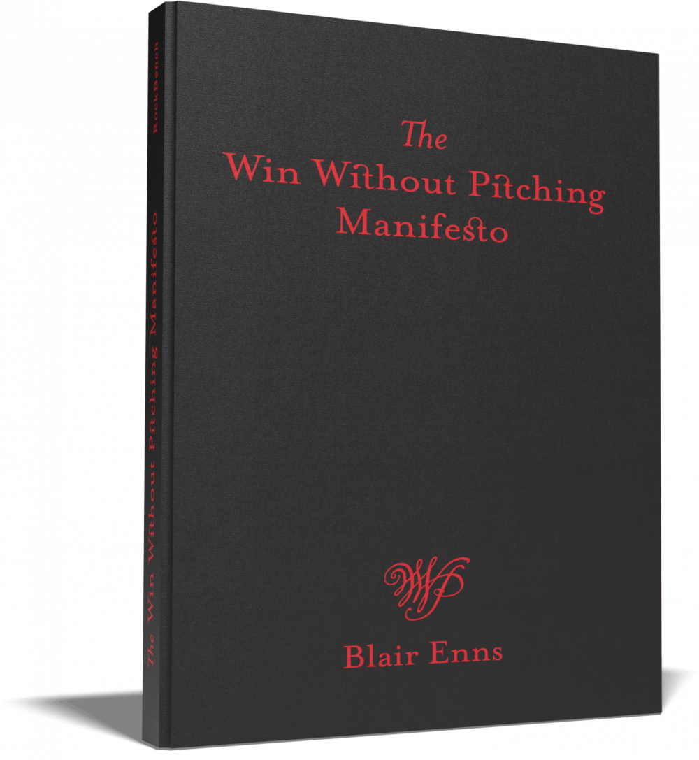 Win Without Pitching Manifesto Cover